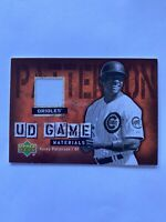 2006 Upper Deck Corey Patterson Cubs UD Game Materials Jersey Card #UD-CP
