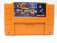 Super 130 in 1 Game 16 Bit for Nintendo SNES Multi Cart Game Cartridge NTSC US
