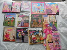 Barbie Collectors: 3 Barbie DVD's & 9 Barbie Books #2332