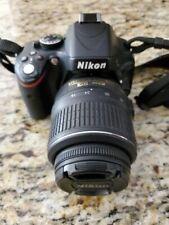 Nikon D D5100 16.2Mp Digital Slr Camera - Black (Kit w/ Af-S Dx Vr 18-55mm.