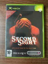 Second Sight (origine Xbox) bon état complet manuel ** FAST POST **