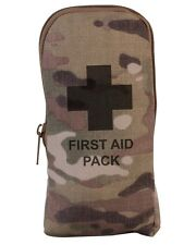 Genuine Multicam MTP Military Emergency Field FIRST AID KIT Filled Pouch SMALL