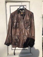 Belstaff Panther Leather biker jacket XXXL, original made in Italy