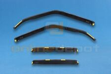 Wind Deflectors BMW 3 E30 Saloon 1983-1990 4-pc HEKO Tinted