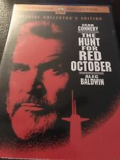 DVD - The Hunt for Red October (2003, WS, Collectors Edition) w/ Chapter Insert