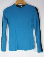Ibex Top S Small Long Sleeve Wool Womens base layer Blue