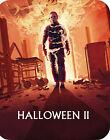🎃HALLOWEEN II Blu-Ray STEELBOOK + TELEVISION CUT John Carpenter MICHAEL MYERS🔪