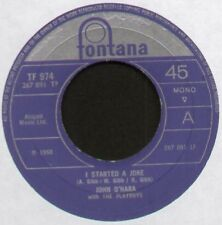 "[BEE GEES] JOHN O'HARA & THE PLAYBOYS ~ I STARTED A JOKE ~ 1968 UK 7"" SINGLE"