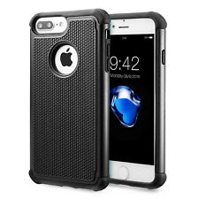 iPhone 7/8 and 7/8 Plus Case Non-Slip Hybrid Dual Layer Shockproof Cover