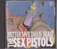 The Sex Pistols Better Live Than Dead Japan 1st CD 1986 Vap 85001-32