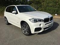 BMW X5 XDRIVE30D M SPORT AUTO 2015 65 REG PAN ROOF7 SEATS20S