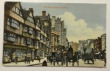 OLD HOUSES HOLBORN LONDON ENGLAND/UK early unused divided glossy finish postcard