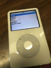 Apple iPod classic 5th Generation White (30 Gb) - Fair Condition