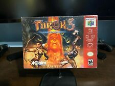 Turok 3 Shadow Of Oblivion Nintendo 64 N64 Factory Sealed New Authentic