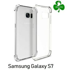 Samsung Galaxy S7 Case Cover Crystal Clear Gel Protective ShockProof Case