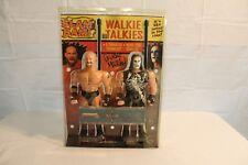 WCW Slam Bam Sting and Goldberg Walkie Talkies