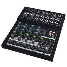 Mackie Mix Series Mix8 8-Channel Compact Professional Studio Live Mixer