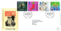 6 JULY 1999 CITIZENS TALE ROYAL MAIL FIRST DAY COVER  BUREAU SHS
