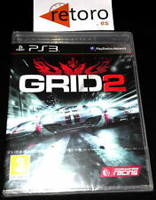 GRID 2 Codemasters Sony PS3 PlayStation 3 PAL Español NUEVO Precintado NEW
