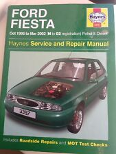 FORD FIESTA 1995 to 2002 All Models Petrol & Diesel HAYNES MANUAL