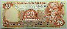 - Très beau billet - NICARAGUA - 20 Cordobas - 1979 - Neuf -