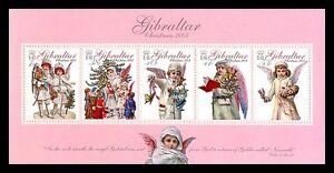 Christmas souvenir sheet mnh Gibraltar 2005