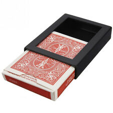 Vanishing Card Case Disappearing Poker Case Close Up Magic Trick Box Props KY