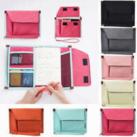 Multifunction Travel File Document Organizer Storage Pouch Clutch Bag Seraphic