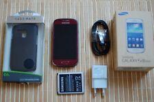 Samsung Galaxy S3 III mini GT-I8200 Rot (Ohne Simlock) Smartphone Handy Mobile