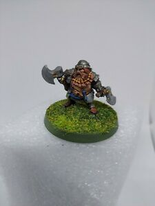 Dwarf Barbarian Fighter Ranger Miniature Dungeons & Dragons Painted Mini DnD