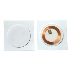 125KHZ EM4100 RFID Soft Paper Sticker Dia 30mm Read Only (pack of 10)