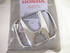 New Genuine 03-07 Honda ACCORD SEDAN 4 DR Front Chrome H Emblem Grille EX LX