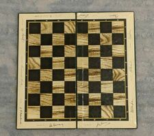 ☭ Rare Soviet USSR russian Game Old chess board world champions autographs