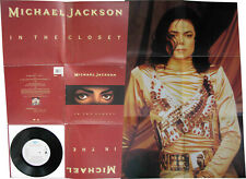 "Michael Jackson IN THE CLOSET Disque 45t 7"" Vinyl Single Disc Poster Bag 1992"