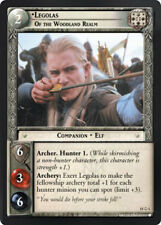 LOTR TCG HUNTERS MW Legolas Of The Woodland Realm FOIL 15O1 a Top Shelf Card