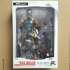 Play Arts 24cm Metal Gear Solid Gray Fox modelo de figuras de acción juguetes
