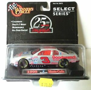 DALE EARNHARDT 1995 SILVER SELECT GOODWRENCH 1/43 WINNERS CIRCLE DIECAST CAR