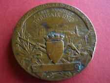 Alte Schützen ? Medaille Frankreich Kupfer ? X. Fete Annuelle Roubaix 1910