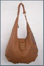 Iman Global Chic HOBO Shoulder Bag with Turquoise Embellishment NEVER Used