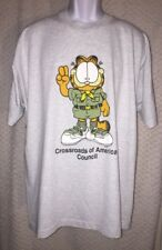 Vintage Garfield Crossroads of America Council T-shirt size XXL