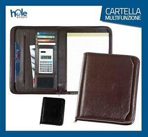 Cartella Porta documenti Cartelletta A4 Portadocumenti Borsa Porta Tablet Lavoro