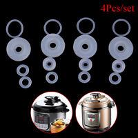 4pcs electrical power pressure cooker valve parts float sealer seal rings safeWU