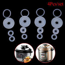 4pcs electrical power pressure cooker valve parts float sealer seal rings FadMEC