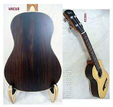 Alulu Solid Spruce and Solid Indian Rosewood Concert Ukulele Hard Case UIC02-15
