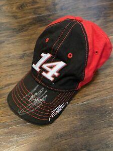 Tony Stewart Autographed 14 NASCAR Youth Baseball Cap