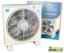 BoxFan Umluft Ventilator mit Timer und Oszillierend 30cm  3 Stufen Kasten