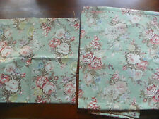 """JCP PAIR OF LINED DRAPES-GREEN FLORAL GORGEOUS-84"""" LONG-CHARLOTTE"""