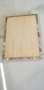 antique mother of pearl inlay calling card case