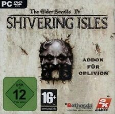 The Elder Scrolls IV Shivering Isles-PC DVD-ROM-NUOVO