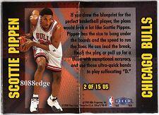 1998-99 FLEER ULTRA UNSTOPPABLE #2: SCOTTIE PIPPEN - CHICAGO BULLS 1:36 PACKS